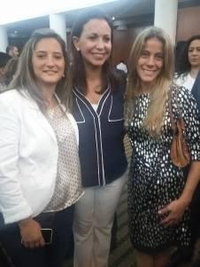 Con María Corina Machado