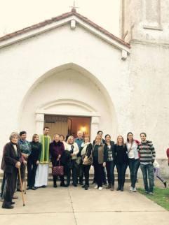 En la Capilla Santa Isables de Hungría de Naré (Santa Fe)