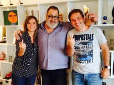 Con Jorge Lanata