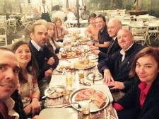 Con Fernando Iglesias, y el equipo del MSR Santa Fe