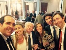 Con el ex Juez de la Corte, Antonio Boggiano