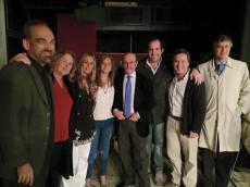 Con Fernando Iglesias y Julio Bárbaro