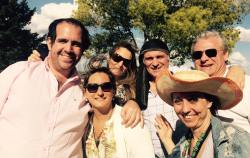 Con José Luis Espert y amigos.