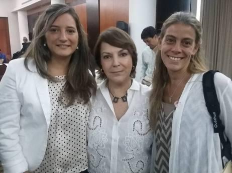Con Mitzi Capriles de Ledesma, esposa del Alcalde Antonio Ledesma.