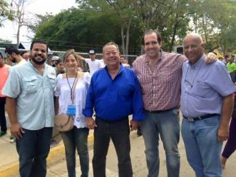 Participando como Observadora Internacional, de las elecciones del 6D en Venezuela.