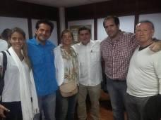 Con el Diputado Jony Rahal y Pedro Bravo, Concejal de Nueva Esparta.