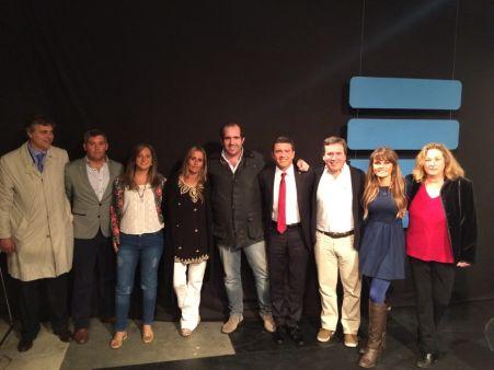 Con Pablo Rossi, Gloria Álvarez y amigos