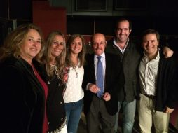 Con Julio Bárbaro y amigos
