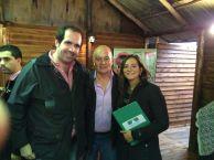 """Con el Secretario General de la UATRE, Gerónimo """"Momo"""" Venegas."""