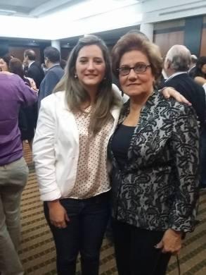 Con la Alcaldeza de Caracas, Helen Fernández