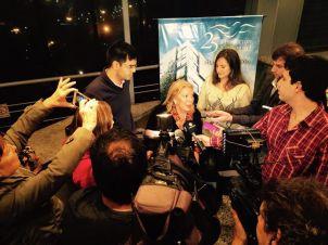 Entrevista en Rosario