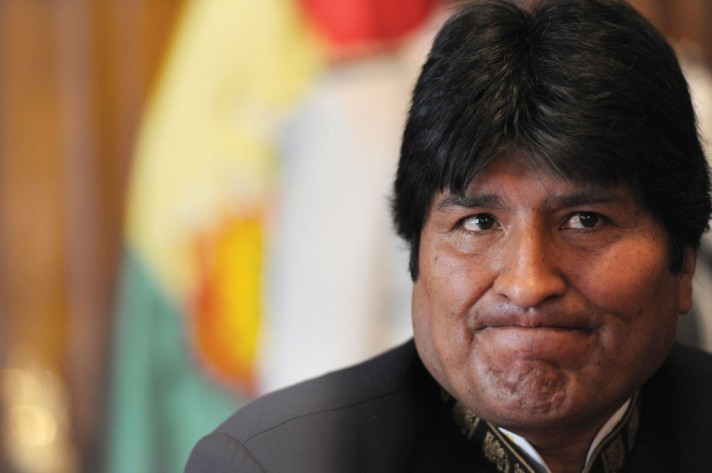 Evo Morales Cara Conocida
